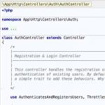 Laravel框架中Trait的使用