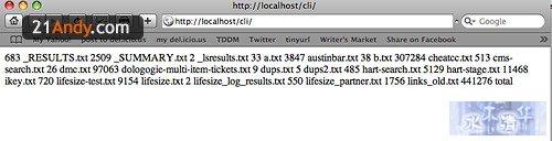 PHP 命令行工具 shell exec, exec, passthru, system a669388d201eb3de
