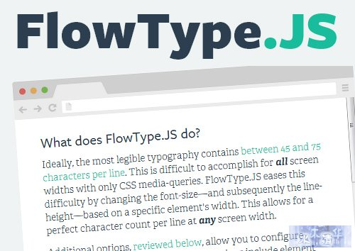 FlowTypeJS-Responsive-Web-Typography