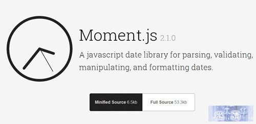 Moments-JavasSript-Date-Library-for-Validating-Manipulating-Formatting-Dates