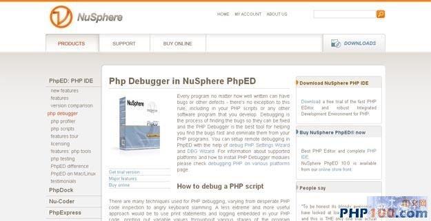 PHP Debugger