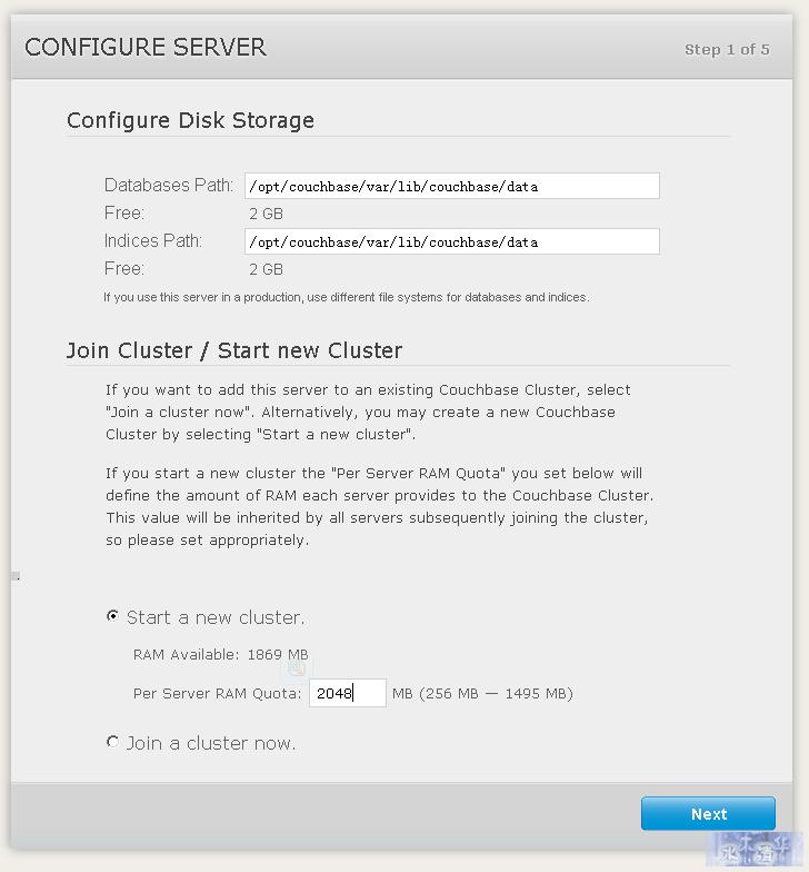 Memcache升级版:CouchBase的安装配置与使用说明