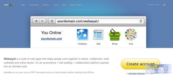 Webasyst - best php framework