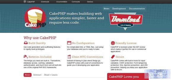 CakePHP - php framework
