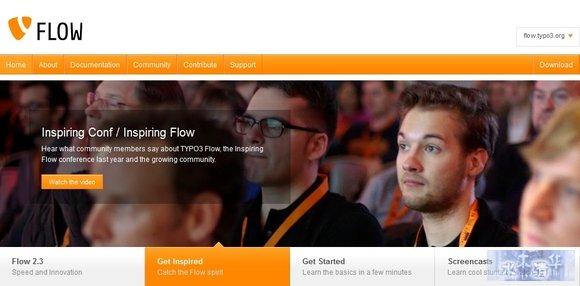TYPO3 Flow - php frameworks