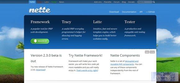 Nette - php frameworks
