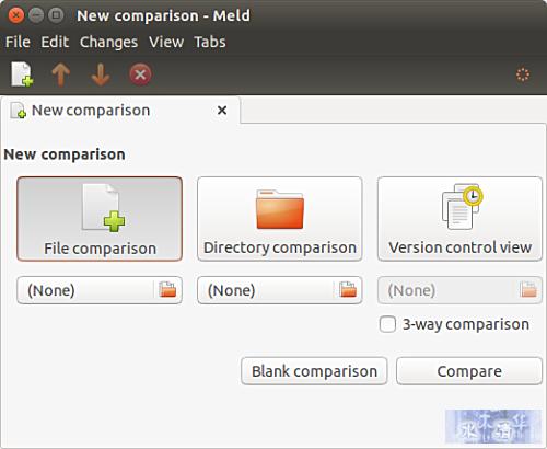 Meld file comparison