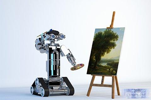 AI作画,人工智能,语义理解,创意行业,广告营销,玻森数据,五彩大脑