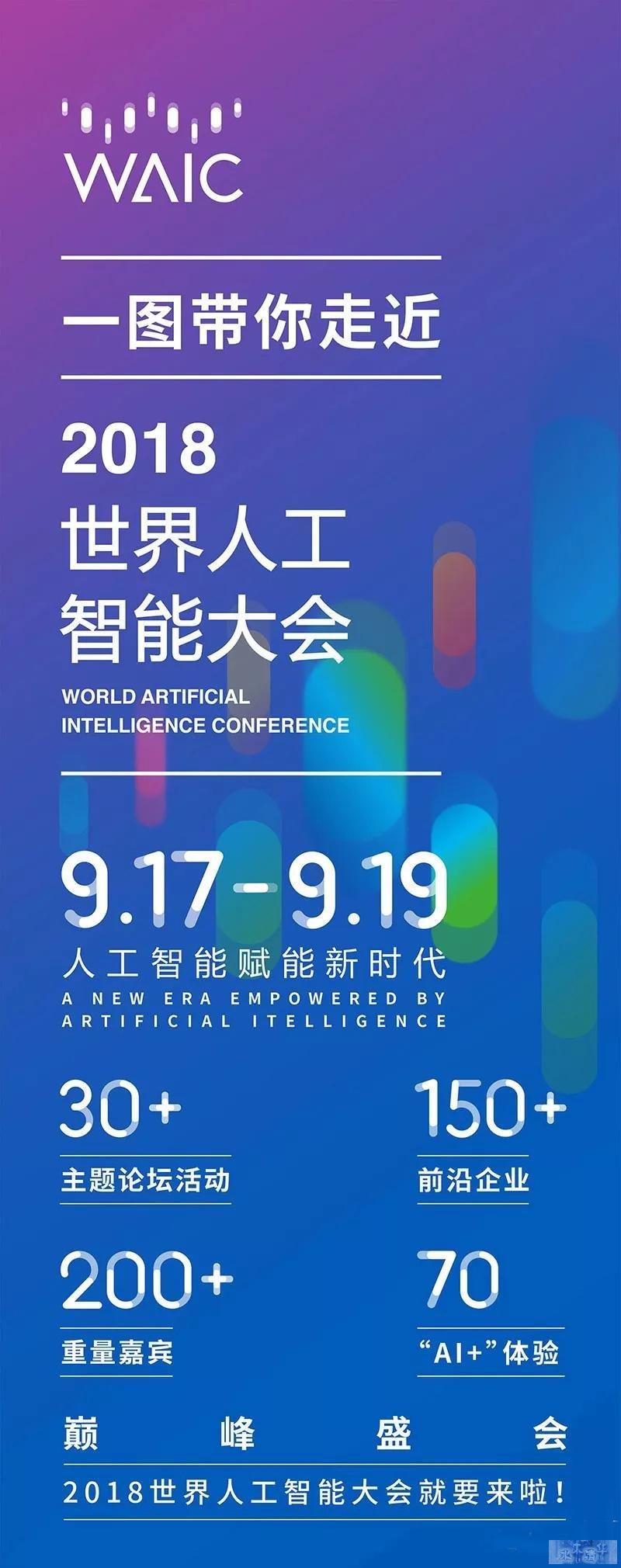 一图带你走近2018世界人工智能大会